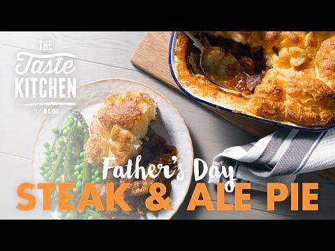 Father's Day Steak & Ale Pie