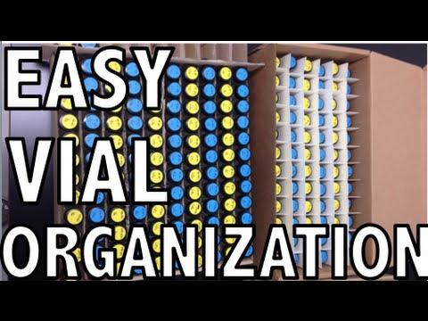 Quick Build: Vial Holder & Organizer