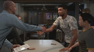 NBA 2K18 My Career - 1st Triple Double! Under Armour Offer! PS4 Pro 4K Gameplay