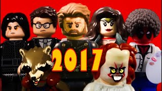 2017 Movie Trailers in LEGO | Highlight Reel|