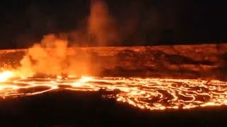 Volcano in Hawaii could erupt after hundreds of small earthquakes