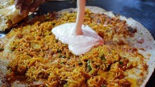 MELTING CHEESE MAGGI Noodles Dosa   Cheese Burst Dosa   Indian Street Food