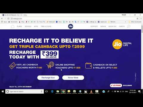 Jio Triple Cashback Offer is Real?