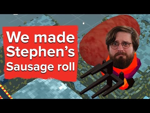 We made Stephen's Sausage Roll