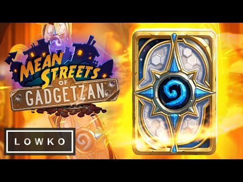 Hearthstone: Opening 60 Card Packs! (Mean Streets of Gadgetzan Expansion)