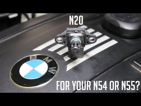 Do you need an N20 map sensor on your N54 or N55 BMW?