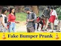 Invisible Bumper Prank On Girls Prank In India 2019 Funday Pranks