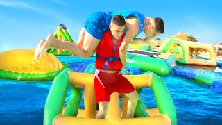 WWE MOVES AT THE WATER PARK