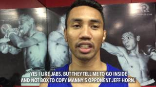 Sonny Katiandagho on sparring with Manny Pacquiao