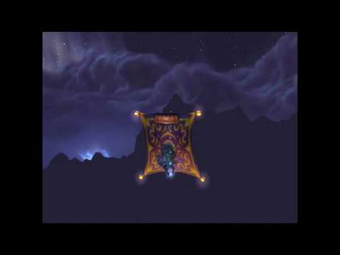 World Of Warcraft: How to fly a flyer upside down