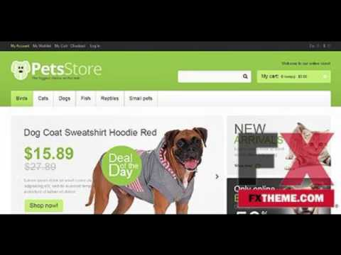 Pet Shop Magento Theme by Hermes Magento TMT by Wes Deryck