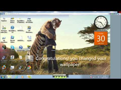 How to change background,bootlogo and logon background on windows 7 starter edition
