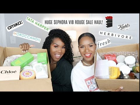 HUGE Sephora VIB Rouge SALE Haul| Spring 2018