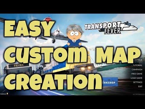 Easy custom maps for Transport Fever