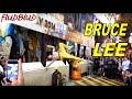 Bruce Lee Impersonator In Lan Kwai Fong Hong Kong