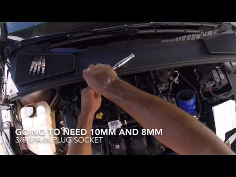 How to replace Spark Plugs // Focus ST