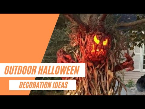 20+ Awesome DIY Outdoor Halloween Decorations Ideas