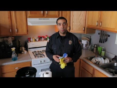 How to Clean Fire Extinguisher Chemicals After Usage : Fire Prevention