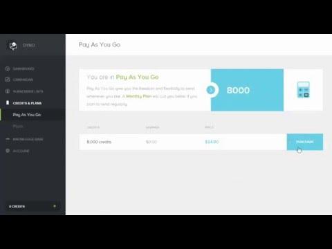 Cách áp dụng coupon Nạp 1 được 3 -   DYNO Email Marketing