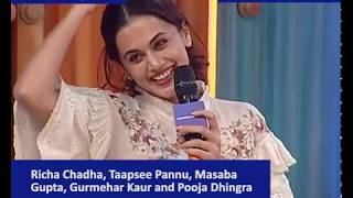 Young & Restless: Taapsee Pannu, Richa Chadha, Masaba Gupta, Gurmehar Kaur & Pooja Dhingra