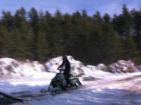 Snowmobile Freestyle