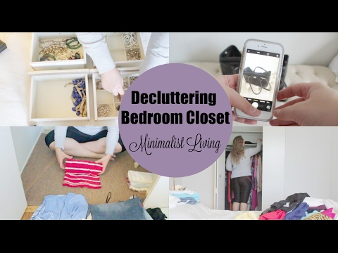 Clean My Bedroom Closet With Me: MINIMALIST LIVING WITH KAT