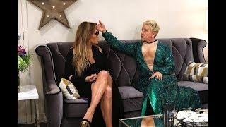 Ellen Helps Prep Jennifer Lopez for Her Las Vegas Show