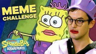 Recreating SpongeBob Memes IRL! 👛 ft. the Cast of SpongeBob the Musical