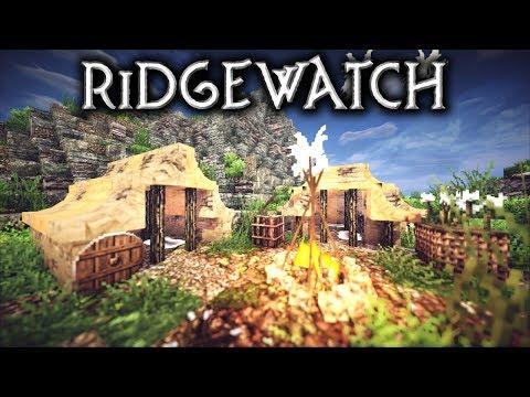 Minecraft: Ridgewatch Camp (Let's Build)