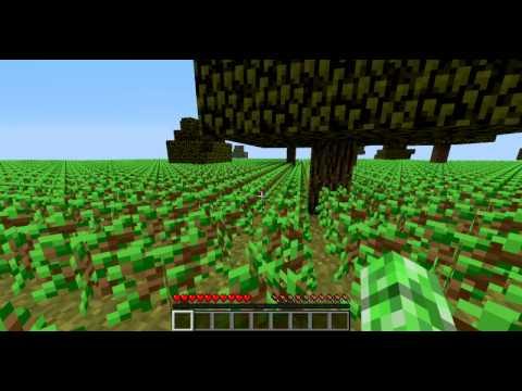 Minecraft sapling challenge