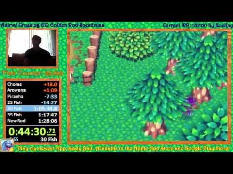 Animal Crossing Golden Rod Speedrun 1:16:33 [OLD]