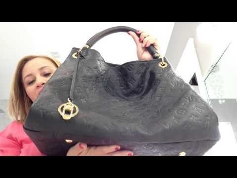Louis Vuitton Artsy Mm And Sully Review Comparison Pt 1
