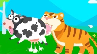 Kids Learn Animals Names and Sounds with Baby Panda | Animals Paradise Educational Game For Kids