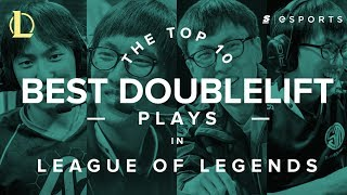Download The Top 10 Best Doublelift Plays Video