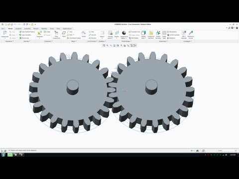 How to Draw Involute Gears in Creo Parametric Involute Gear Tutorial - Part 1