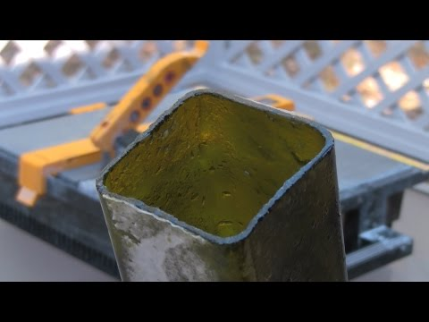How To Cut Square Glass Bottles - DIY Stuff by DKS