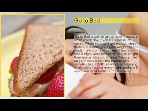 10 Tips to Lose Baby Weight