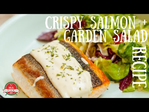 In the Kitchen S2E11 | Crispy Salmon with Garden Salad Recipe
