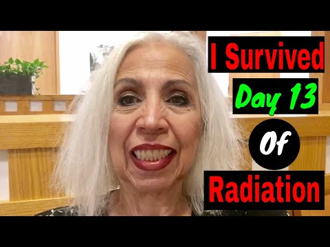Radiation Therapy - I Survived Day 13