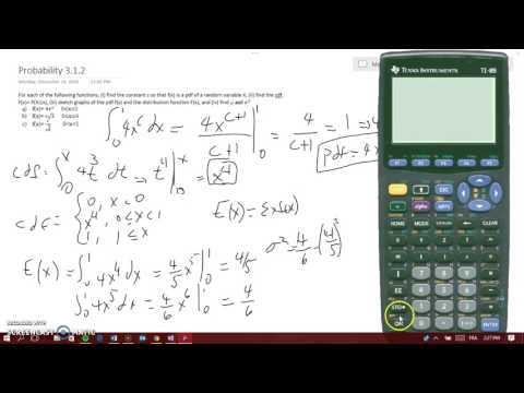 find c, pdf, cdf, graph and find the mean and variance