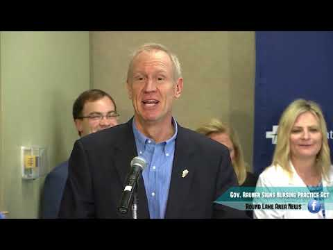 IL Governor Rauner Signs HB313 - Nursing Practice Act
