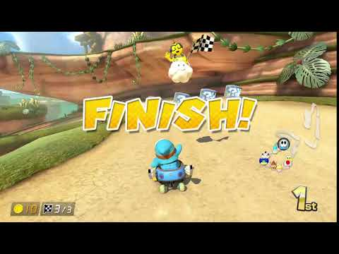 The proper way of stealing first place - Mario Kart 8 Deluxe clip