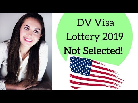 What if you were NOT selected in DV Visa Lottery?🇺🇸🤔