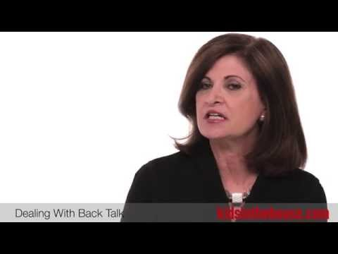 What To Do When Kids Talk Back - Michele Borba, EdD