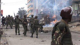 Three killed in protests against disputed Kenya vote