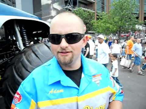 Short Interview With Adam Anderson: Driver Of Grave Digger The Legend Philadelphia, PA 2011