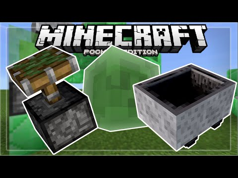 MCPE 0.15.0 // JUMPING MINECARTS! - 0.15.0 Flying Minecart Trick - Minecraft PE (Pocket Edition)