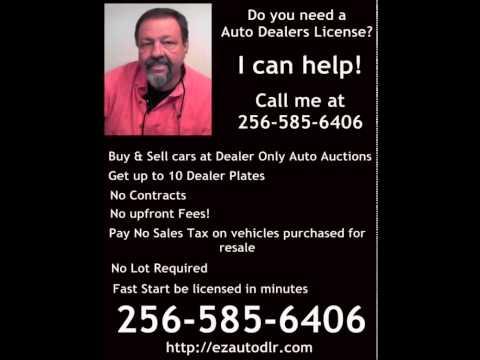 Auto Dealers License