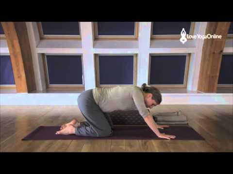 Pregnancy Yoga Practice Contractions