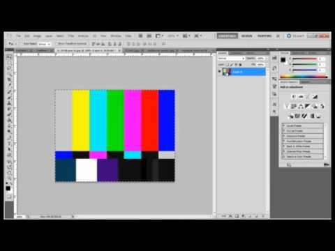 How to create a gif image in photoshop cs5: Speed Art